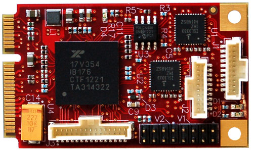 Secondary Product Image Serial I/O