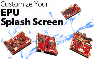 How to Create a Custom Splash Screen for VersaLogic EPUs